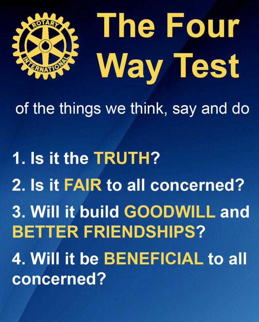 Rotary - Service Above Self
